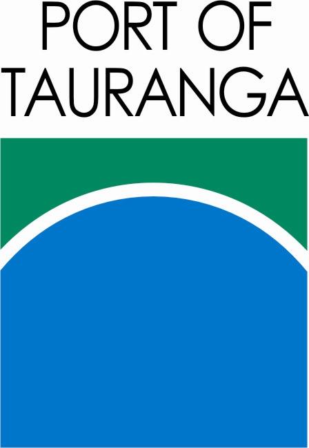 Port of Tauranga - Logo